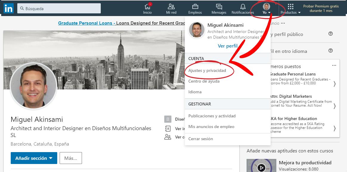 Ajustes-y-Privacidad-Linked-Jose-Manuel-Lodeiro-Experto-LinkedIn-Curso-Social-Selling